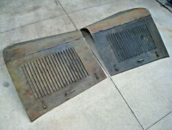 Original 1932 Ford Car And Truck Hood 20 Louver Sides And Tops Oem Sheet Metal Steel