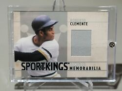 2007 Roberto Clemente Sportkings Game Used Pants Relic Silver Sp /90 Pirates Hof