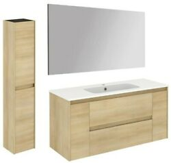 Ws Bath Collections Ambra 120 Pack 2 Ambra 48 Wall Mounted - Wood