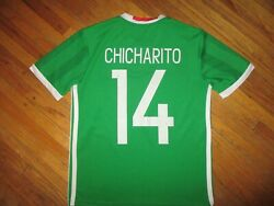 Chicharito Mexico 14 Jersey Soccer Adidas Climacool Javier Hernandez Youth Size