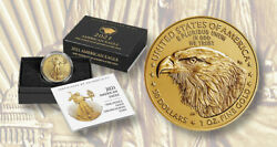 American Eagle 2021 One Ounce Gold Uncirculated Coin 21ehn Confirmed Order