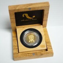 2005-mo Mexico 100 Pesos Guanajuato Gold And Silver Proof Issue Low Mint Otx558