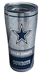 Triple Walled Nfl Dallas Cowboys Ultratravel Tumbler Cup 20 Oz Stainless Steel