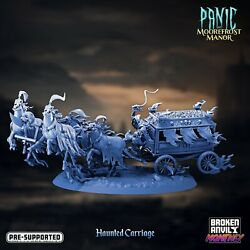 Haunted Carriage By Broken Anvil, Dungeons And Dragons, Pathfinder