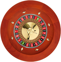 Chh 16 Deluxe Wooden Roulette With Rake