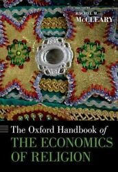 Oxford Handbook Of The Economics Of Religion Hardcover By Mccleary Rachel M...