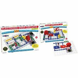 Snap Circuits Sc-300 Electronics Discovery Kit With Snap Circuits Jr. Sc-100 ...