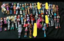 Monster High Doll Lot Collection All Original Clothes Shoes And Limbs