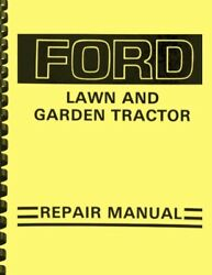 Ford Lgt Lawn And Garden Tractors 100 120 125 145 165 195 Service Repair Manual