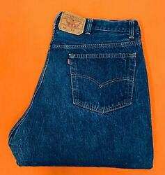Levi Strauss 501xx Vintage Blue Jeans Size 42 X 32 Made In Usa