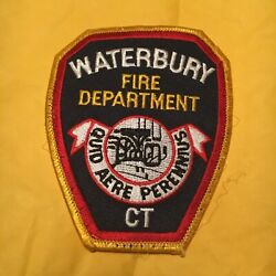 Waterbury Connecticut Fire Patch