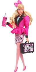 Barbie Rewind 80s Edition Career Girl Doll Blonde With Fashion And Toy