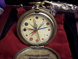 Harry Potter Dumbledore's Pocket Watch Fossil Pocketwatch New, Working