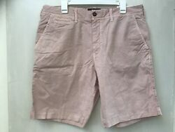 American Eagle Outfitters Next Level Flex Mens Pink Shorts Size 36 Nwt