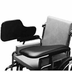 The Aftermarket Group - Tagac010022 Wheelchair Half Lap Tray Black Padded Vin...