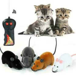 Remote Control Rat Mouse Wireless Mice Toy For Cat Dog Pet Toy Novelty Gift