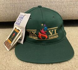 1996 Olympic Games Xxvi Hat One Size Fits All Cap Collectible W/ Tag Brand New