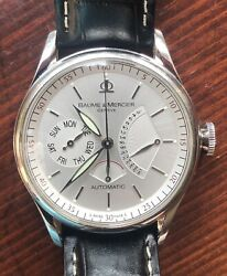 Baume And Mercier William Baume Collection 65603 Limited 1409/1830 30j Mens Watch
