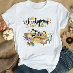 Peanuts Party Happy Thanksgiving T ShirtSnoopy Thanksgiving Shirt Unisex S 3XL