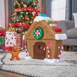 Step2 My First Gingerbread House - Brand New Ready To Ship Step 2 Christmas