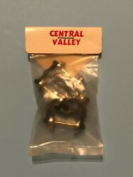 Central Valley Pair Ho High Speed Freight Car Trucks Roller Bearing T-55
