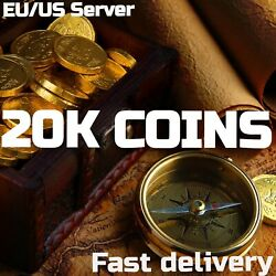 New World / 20k Gold Coins / 20 000 Coins / Us Eu / Any Servers