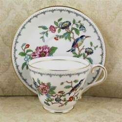 Aynsley Pembroke Cups And Saucer Set Of 4
