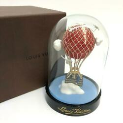 Louis Vuitton Glass Snow Globe Dome Maruaero Novelty Authentic 2013 Limited Vip