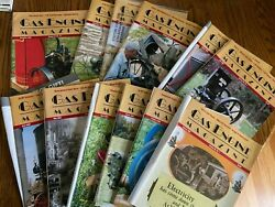 12 Vintage Gas Engine Hit And Miss Magazines Complete Year 2004 Farm Agriculture