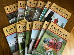 12 Vintage Gas Engine Hit And Miss Magazines Complete Year 2005 Farm Agriculture