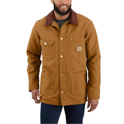Menand039s - Loose Fit Firm Duck Blanket-lined Chore Coat