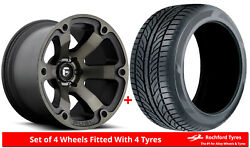 Alloy Wheels And Tyres 20 Fuel Beast D564 For Nissan Frontier [mk2] 04-15