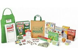 Melissa And Doug Fresh Mart Grocery Store Companion Collection 70+ Piece Set New