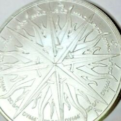 Praedatumin Mundo 1 Troy Ounce Of .999 Pure Silver 1 Piece Of 8 To Complete Coll