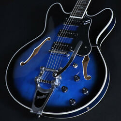 Vox Bobcat S66 With Bigsby Sapphire Blue S/n S2001404 Yrk