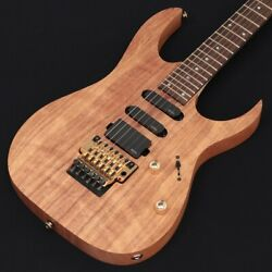 Ibanez Limited Edition Plemium Rg6pkag Natural Flat Model Counter S/n I201114349