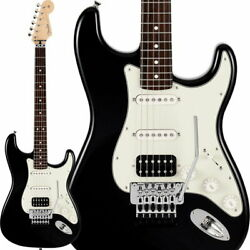 Fender Electric Guitar Made In Japan Limited Stratocaster With Floyd Rose Black