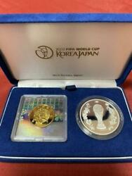 2002 Fifa World Cup Commemorative Coins Gold And Silver Proof Coins Set