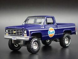 1978 Chevy Chevrolet Square Body Pickup Truck Gulf 164 Scale Diecast Model Car