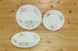 Royal Doulton Arcadia 2 Salad Plates And 1 Bread And Butter Plate | England