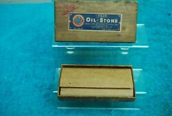 Vintage Tilco Oil Stone Sharpening Stone Unused Fine Type Xxx Class A Knives