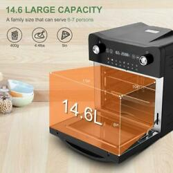 16-in-1 14.6l Electric Toaster Oven 1800w Electric Led Touch Screen Upgrade/usa
