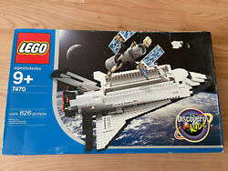 Lego Discovery Space Shuttle 7470 New In Box Nib