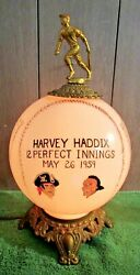 1959 Pittsburgh Pirates Baseball Harvey Haddix 12 Perfect Innings Pitched Trophy