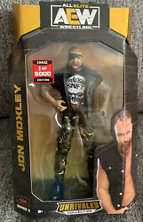AEW Unrivaled Series 5 Jon Moxley CHASE 1 5000 All Elite RARE FIND
