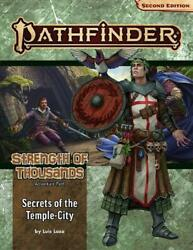Pathfinder Adventure Path Secrets Of The Temple-city By Luis Loza English Pap