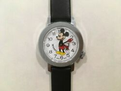 Vintage Bradley Mickey Mouse Nodding Head Swiss Watches - Exe