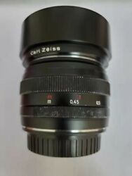 Zeiss Planar T 50mm F/1.4 Ze Lens For Canon Ef
