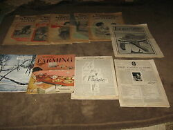 10 Fabulous Vintage Farm/farming Newspapers And Magazines 1921 And Up - Must See