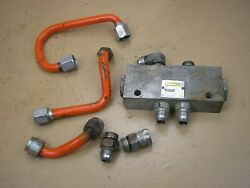 Case Ingersoll 444 446 448 Tractor M9 Hydraulic Holding Valve